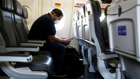 Amid airline industry slump, new study shows flying may actually be safer than grocery shopping, indoor dining